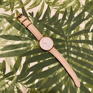 Nanette Lepore Nude/ Rose Gold Watch